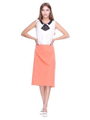 Спідниця персикового кольору | 2590953