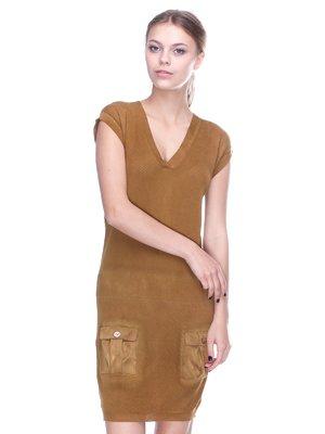 Сукня коричнева | 2316557