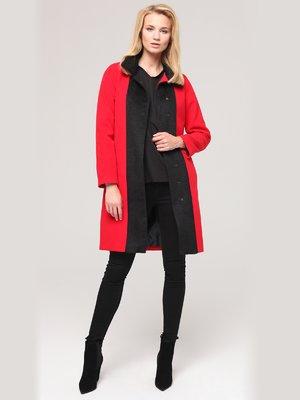 Пальто двоколірне | 2686158