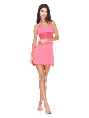Рубашка ночная розовая | 2665285