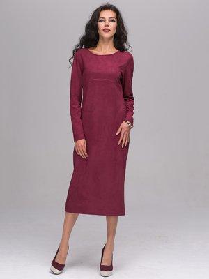 Платье бордовое   2689666