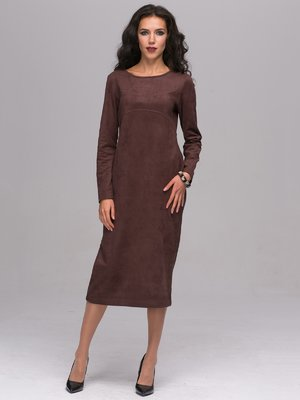 Платье шоколадного цвета   2689670
