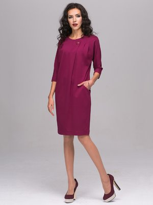 Платье цвета фуксии | 2689672