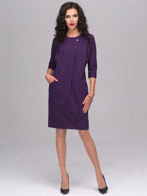 Платье баклажанного цвета | 2689675