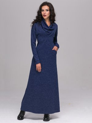 Платье синее | 2689693