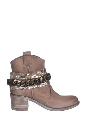 Ботинки коричневые | 2691839
