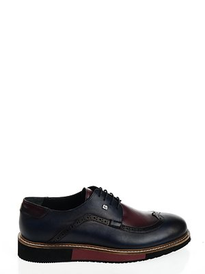 Туфли сине-бордовые | 2103016