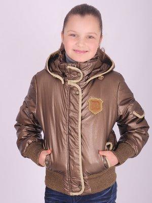 Куртка бронзового кольору | 2027134