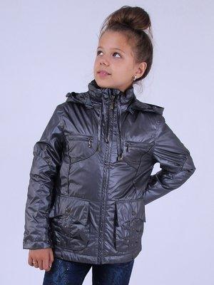 Куртка темно-сіра | 2695932