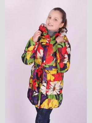 Пальто цветочной расцветки | 2027169