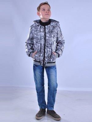 Куртка абстрактной расцветки | 2027176