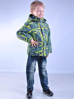 Куртка абстрактной расцветки   2027185