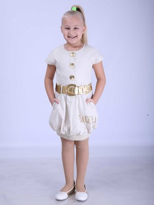 Платье бежевое | 2180608