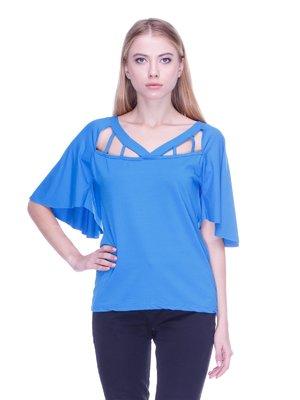 Блуза синяя | 2393793