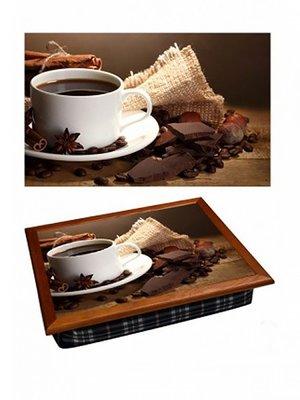 Поднос с подушкой «Кофе с шоколадом» | 2700560