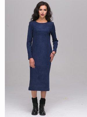 Платье темно-синее | 2689660