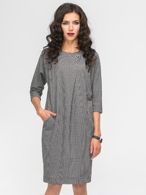 Платье серое | 2703953