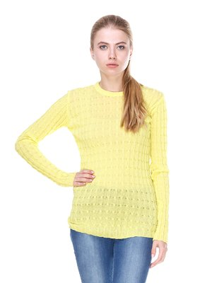 Джемпер лимонного цвета | 2699909