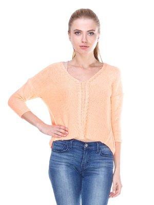 Пуловер оранжевый | 2699902