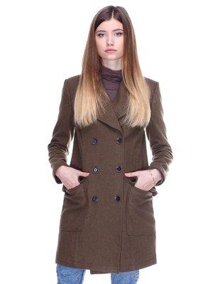 Пальто зеленое | 2705256