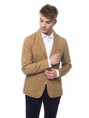 Піджак гірчичного кольору | 2717400