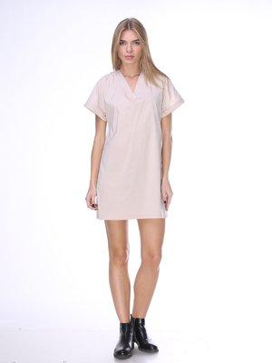 Платье бежевое | 2419190