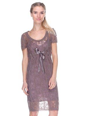 Платье бежевое | 2686580