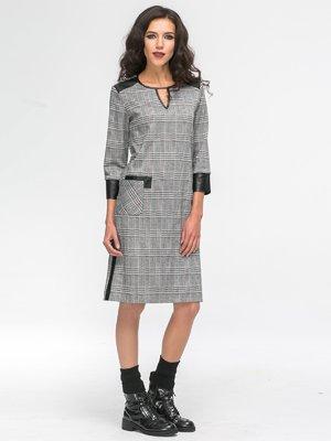 Платье клетчатое | 2741711