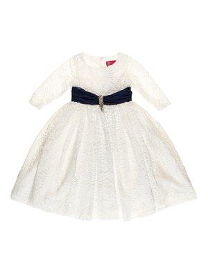 Платье бело-синее | 2736533
