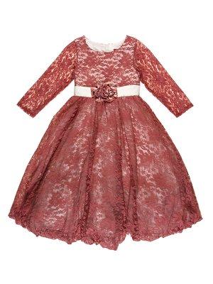 Платье фрезового цвета | 2736531