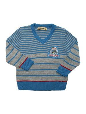 Пуловер в полоску   2753553