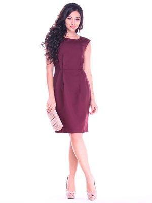 Платье сливовое | 2763184
