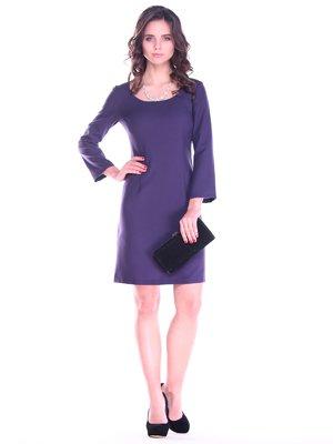Платье темно-фиолетовое | 2763197