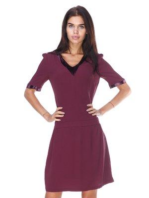 Сукня темно-фіолетова | 2767955