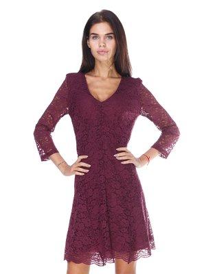 Сукня бордова | 2767973