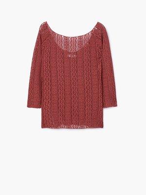 Блуза бордовая   2722797