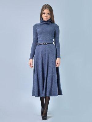 Платье графитового цвета | 2771476