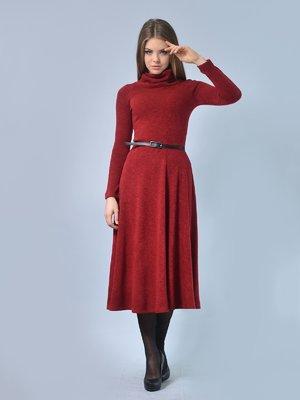 Платье бордовое | 2771478