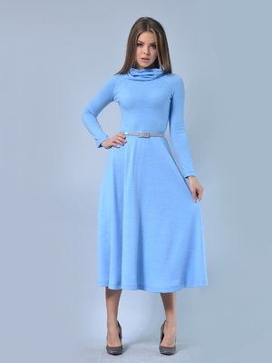 Платье голубое | 2771480