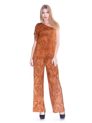 Штани коричневі | 2770192
