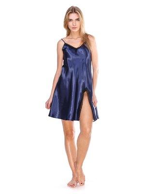 Сорочка нічна синя | 2770140