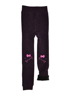 Рейтузи фіолетові на хутрі | 2781870
