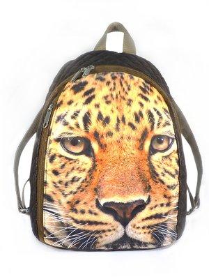 Рюкзак коричневый с принтом | 2782164