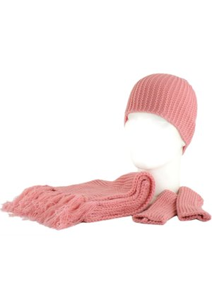 Комплект: шарф, шапка, митенки   2770382