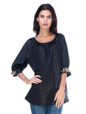 Блуза чорна | 2787029