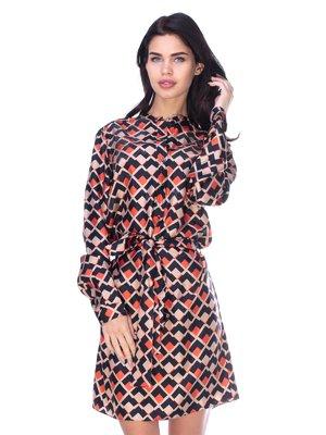 Сукня абстрактного забарвлення | 2787023
