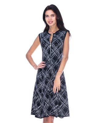 Платье черно-белое | 2787026