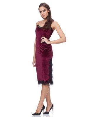 Сукня бордова | 2777636
