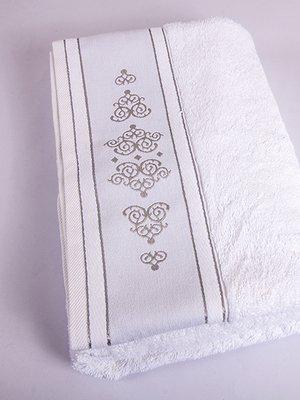 Полотенце махровое белое (50х90 см) | 2331604