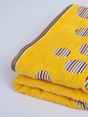 Полотенце махровое желтое (70х140 см)   2750612